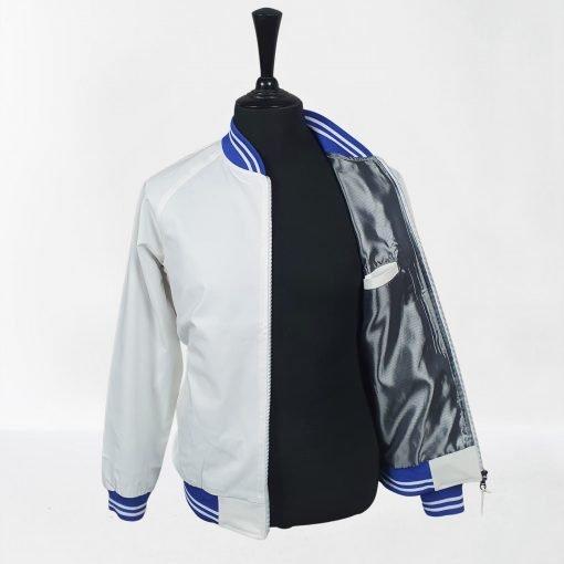 White Blue Monkey Jacket
