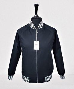 Black Jacquard Monkey Jacket