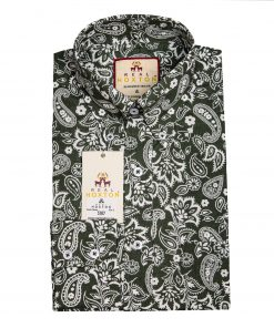 Forest Paisley Long Sleeves Shirt