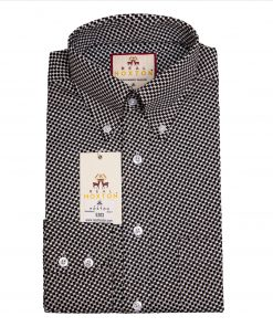 Houndstooth Long Sleeves Shirt