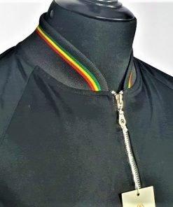 Black Reggae Monkey Jacket