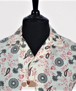 Indie Paisley Hawaiian Short Sleeves Shirt