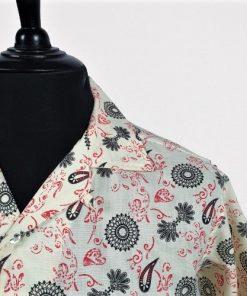 Indie Paisley Hawaiian Short Sleeve Shirt
