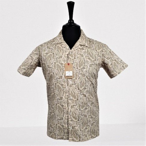 Vintage Paisley Hawaiian Short Sleeve Shirt