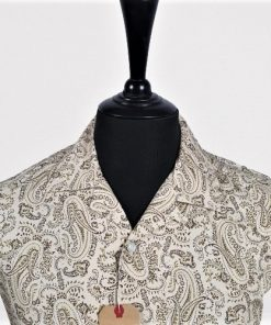 Vintage Paisley Hawaiian Short Sleeves Shirt