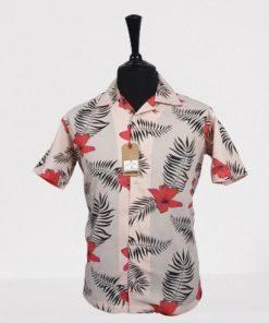 Palms Grove Hawaiian Short Sleeves Shirt
