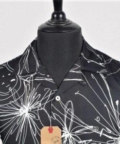 Random Black Hawaiian Short Sleeves Shirt