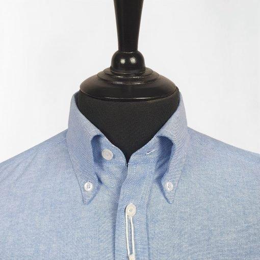 Sky Oxford Short Sleeves Shirt