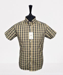 Hazel Black Check Short Sleeves Shirt