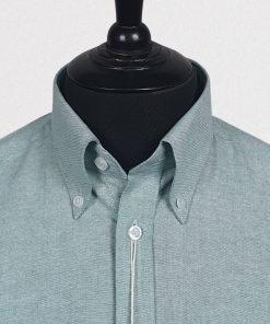Mint Oxfrod Short Sleeves Shirt