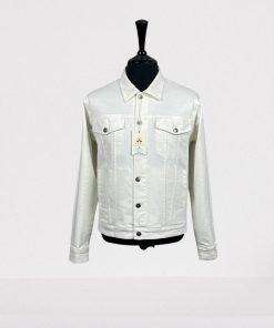 Trucker Jacket White