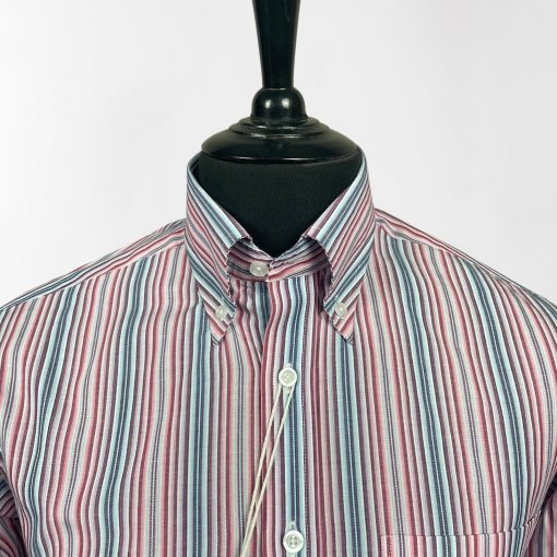 Multi Thin Stripes Long Sleeves Shirt