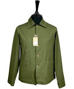 Ripstop Olive Chore Jacket