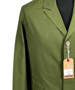 Ripstop Olive Engineer Jacket