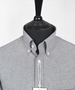 Grey Oxford Long Sleeves Shirt