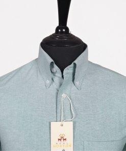 Green Oxford Long Sleeves Shirt