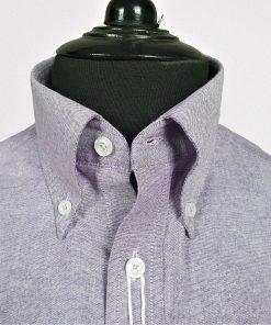 Purple Oxford Long Sleeves Shirt