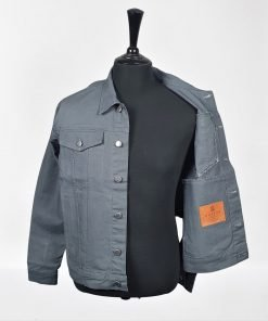 Metal Grey Trucker Jacket