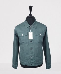 Jade Green Trucker Jacket