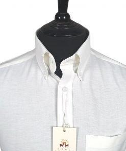 White Oxford Short Sleeves Shirt