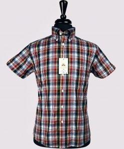 Tartan Sky Check Short Sleeves Shirt
